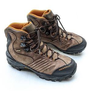 MERRELL Winterra Brown Vibram Hiking Work Boots